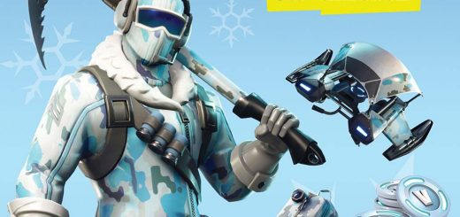 Deep Freeze 520x245 - New bundle Deep Freeze is now available in Fortnite!