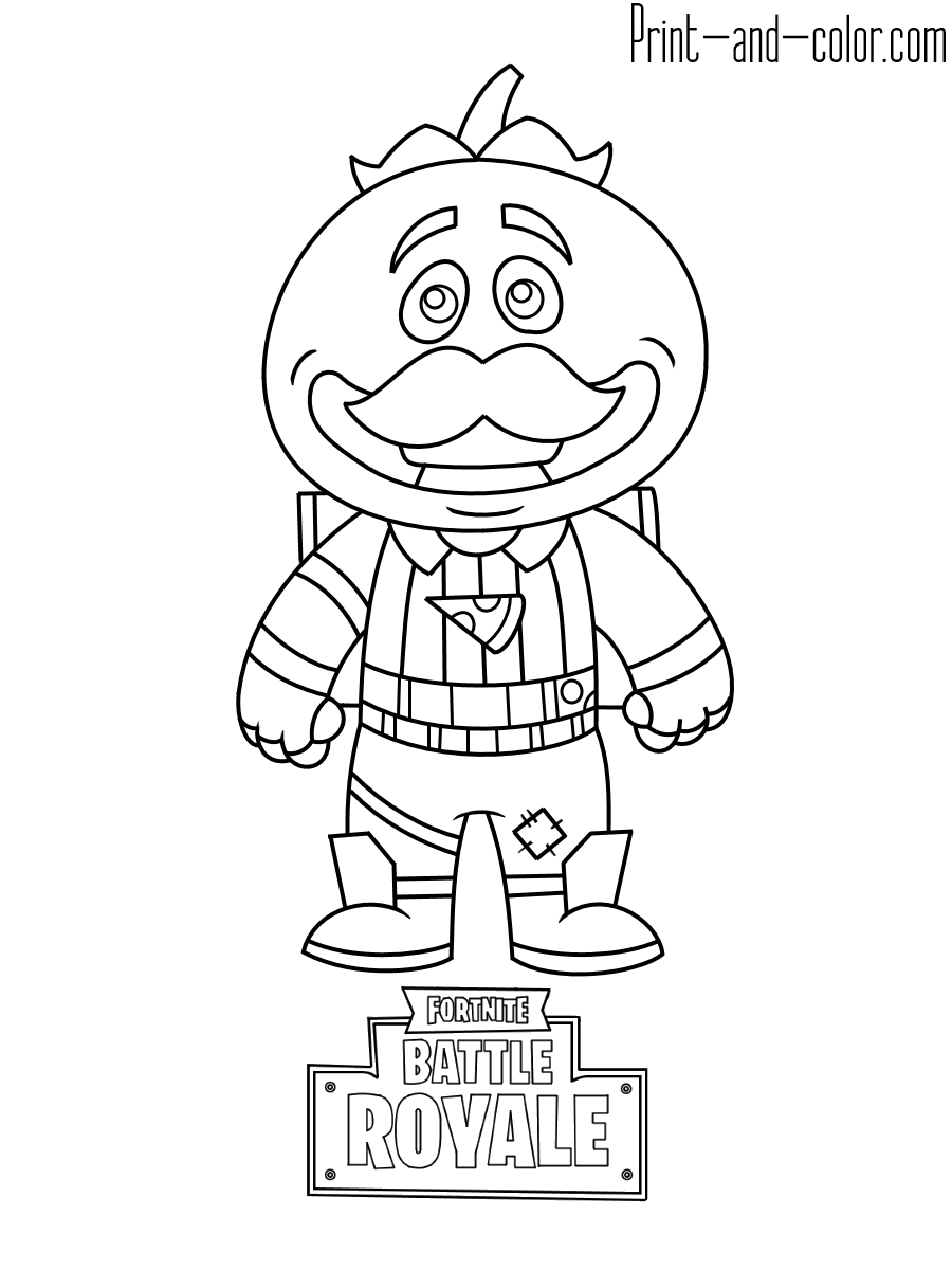 Fortnite coloring pages Fortnite