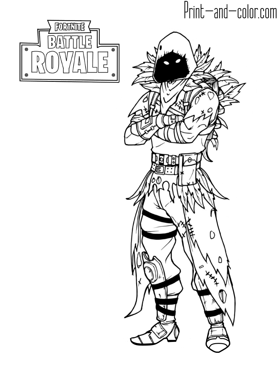 2 - Fortnite coloring pages