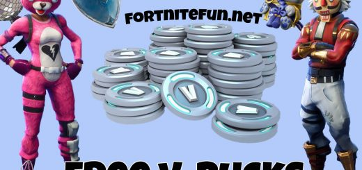 v bucks1 520x245 - How To Get FREE V-BUCKS in Fortnite