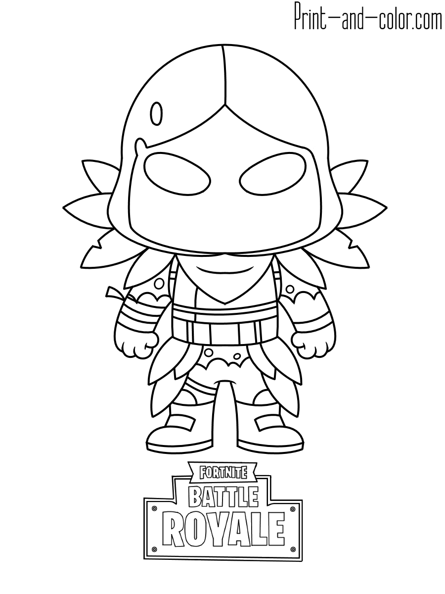 Fortnite Coloring Pages Fortnite Battle Royale