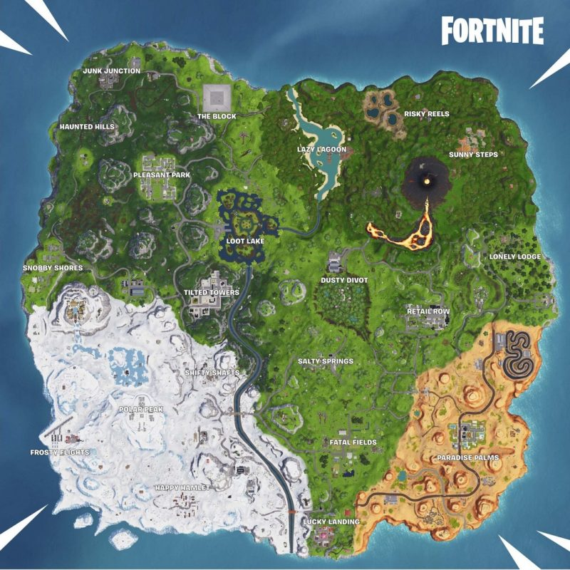 Fortnite map season 8