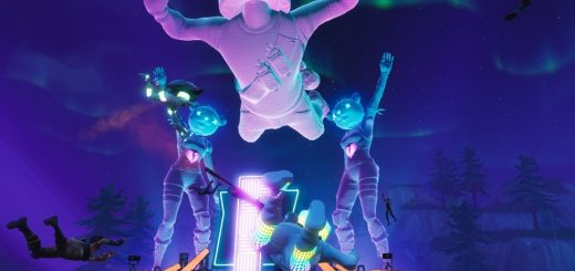 XLPLlmNUD4 520x245 - Marshmello's concert in Fortnite's Pleasant Park