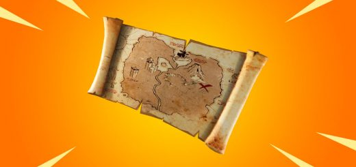 BurriedTreasure 520x245 - Fortnite Season 8 v8.01 Patch Notes