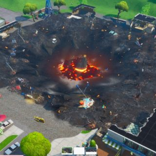 Retail Row after Fortnite Unvaulting event