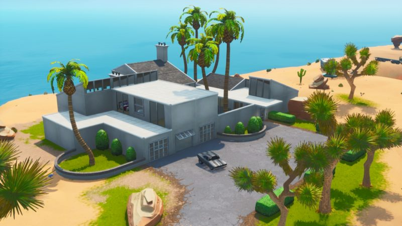 John Wick's mansion in fortnite