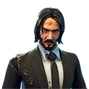 T Variant M AssassinSuit Damaged - John Wick Skin Coming to Fortnite