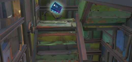Fortbyte #21 Accessible In A Inside A Metal Llama Near Junk Junction Location Guide