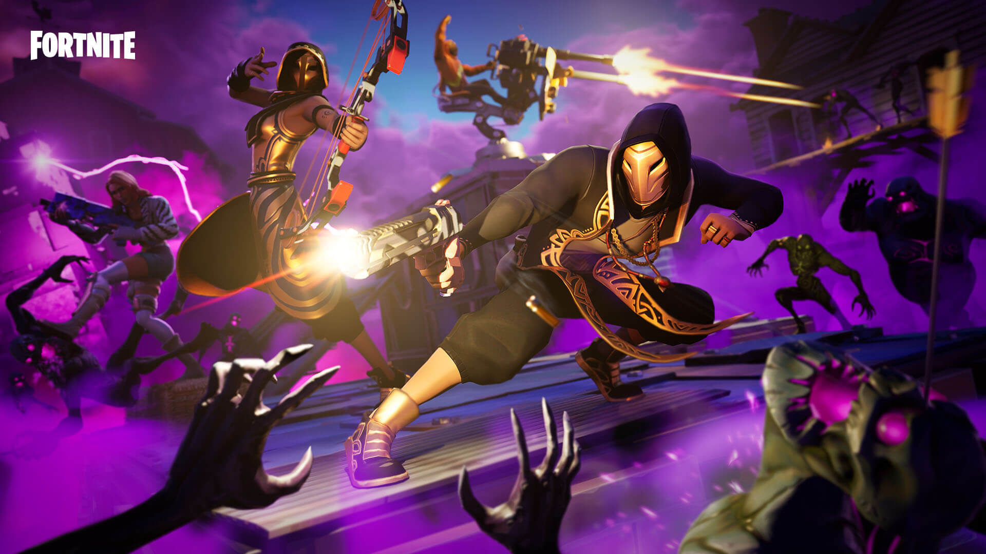 Fortnite v9.21 Patch Notes – Proximity Grenade Launcher, Horde Rush mode, and more