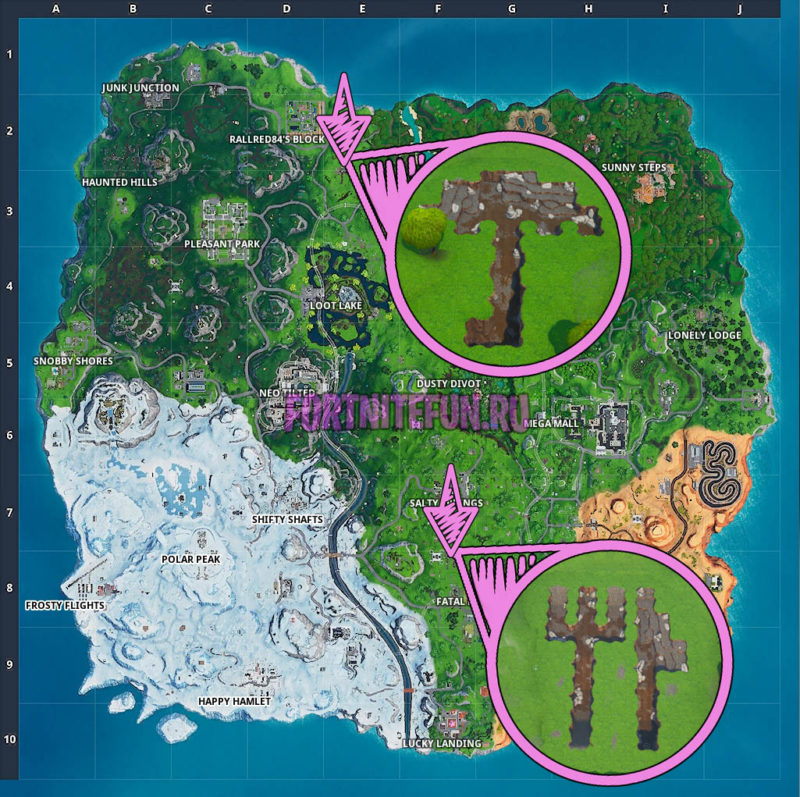 Collect Stone From A Fork Knife Or Umbrella - Week 10 Season 9 Fortnite Challenge Location Guide
