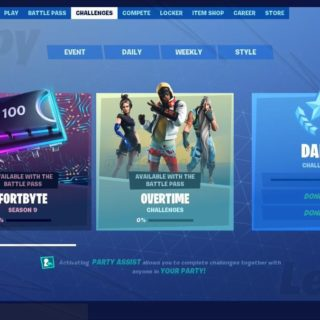 D sCsSyXYAAPokV 320x320 - Fortnite Season 9 Overtime Challenges - Cheat Sheets, Tips, Rewards and more