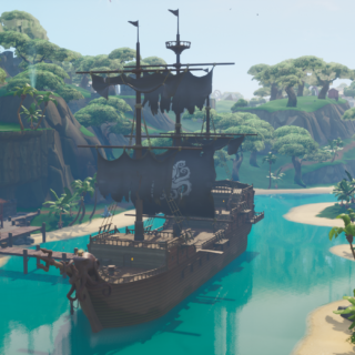 Fortnite Screenshot 2019.07.05 10.50.45.19 320x320 - Collect Wood From A Pirate Ship Or Viking Ship - Week 10 Season 9 Fortnite Challenge Location Guide