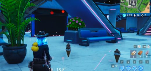 Fortnite Ice-cream Healing Item Locations