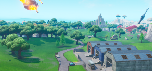 Fortnite Dusty Depot Location
