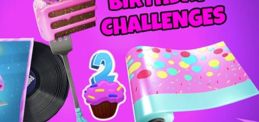 Scr07.7 17 2019 520x245 - Fortnite Season 9 Birthday challenges - Cheat Sheets, Tips, Rewards and more