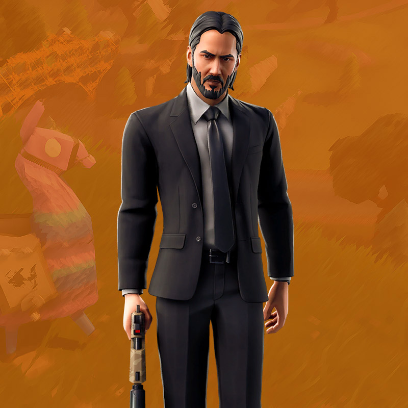 John Wick Outfit Fortnite Battle Royale