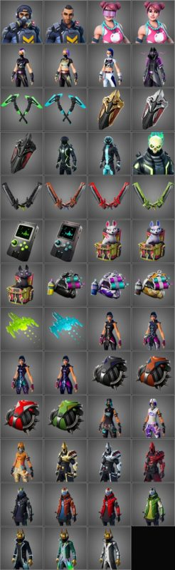 246x800 - Fortnite Season 10 (X) Leaks Show New Skins, Pickaxes, Gliders, Back Blings And More In v10.00 Patch