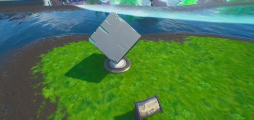 Visit A Memorial To A Cube In The Desert Or By A Lake - Fortnite Worlds Collide Challenges