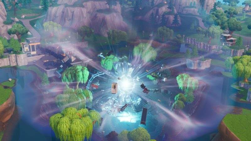 Use a Rift - Fortnite Worlds Collide Challenges