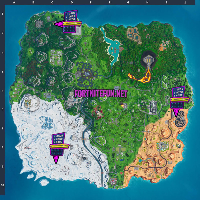 Complete A Lap Of A Race Track - Fortnite Storm Racers Challenges