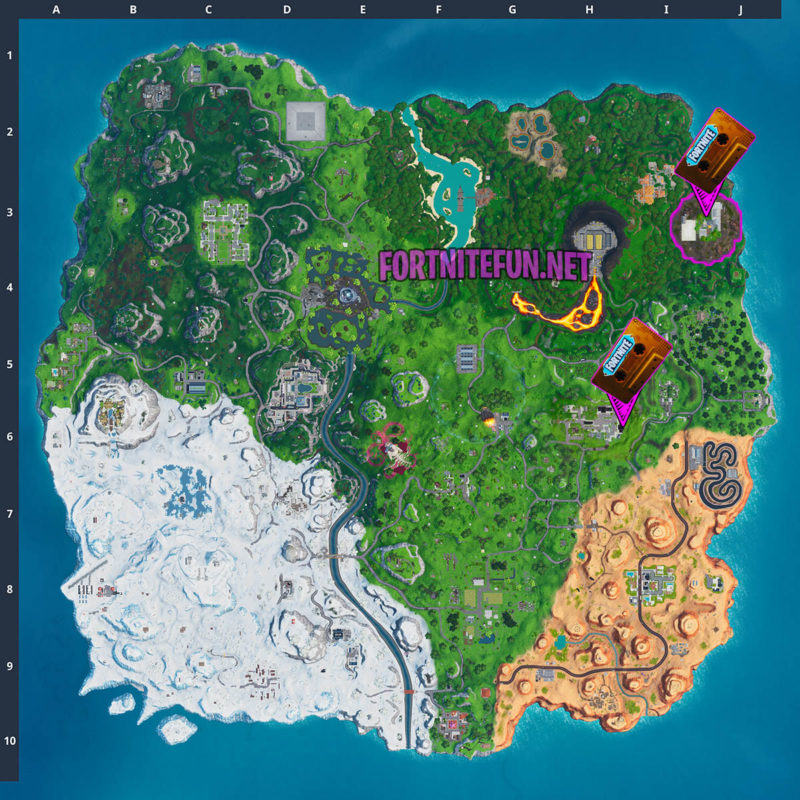 Collect The Visitors Recording On The Floating Island And In Retail Row - Fortnite Out Of Time