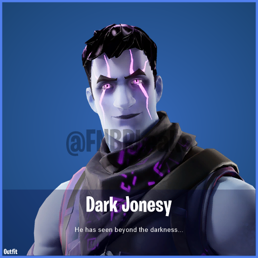 Dark Jonesy (Rare) – He has seen beyond the darkness…