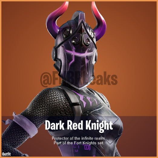 Dark Red Knight (Legendary) – Protector of the infinite realm