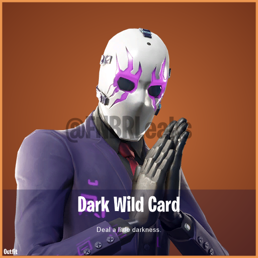 Dark Wild Card (Legendary) – Deal a little darkness.