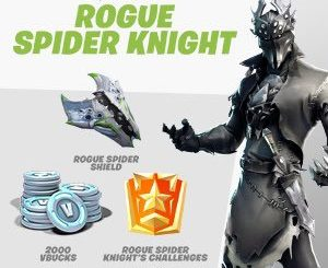 EFHSdnwWkAAc6Ci 300x245 - Fortnite Rogue Spider Knight bundle on Xbox!