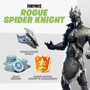 EFHSdnwWkAAc6Ci - Fortnite Rogue Spider Knight bundle on Xbox!