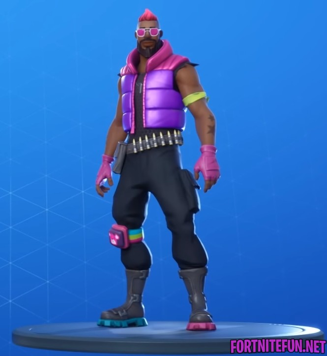 Brite blaster outfit