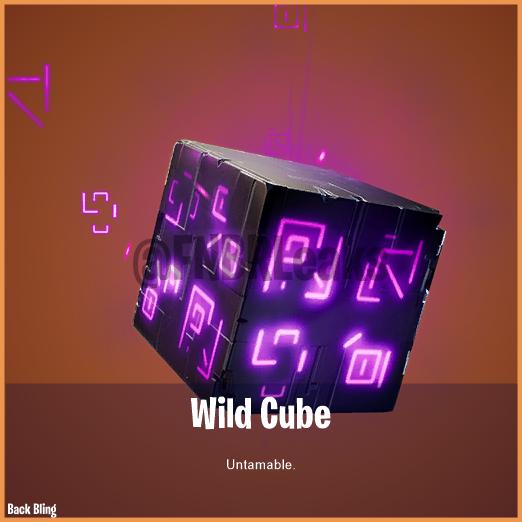 Wild Cube (Legendary) – Untamable.