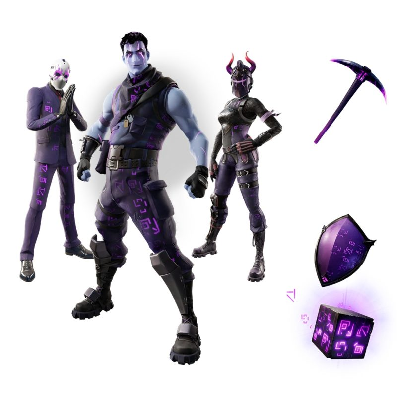 New Fortnite Dark Legends cosmetic bundle