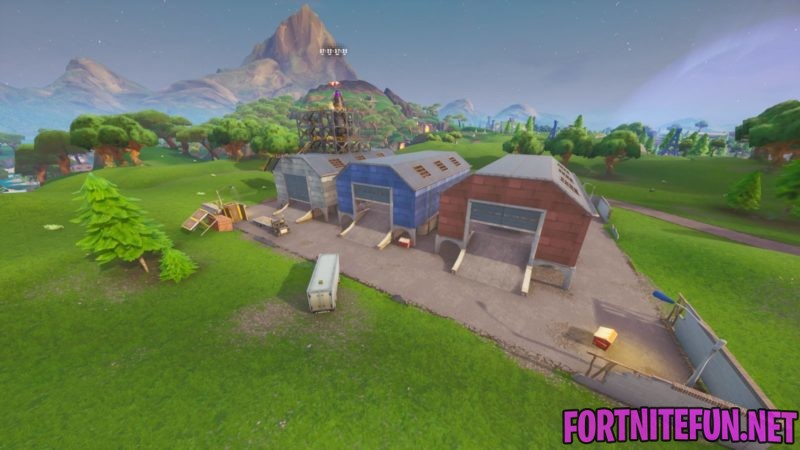 Dusty Depot fortnite