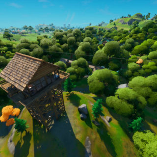 Fortnite Weeping woods location
