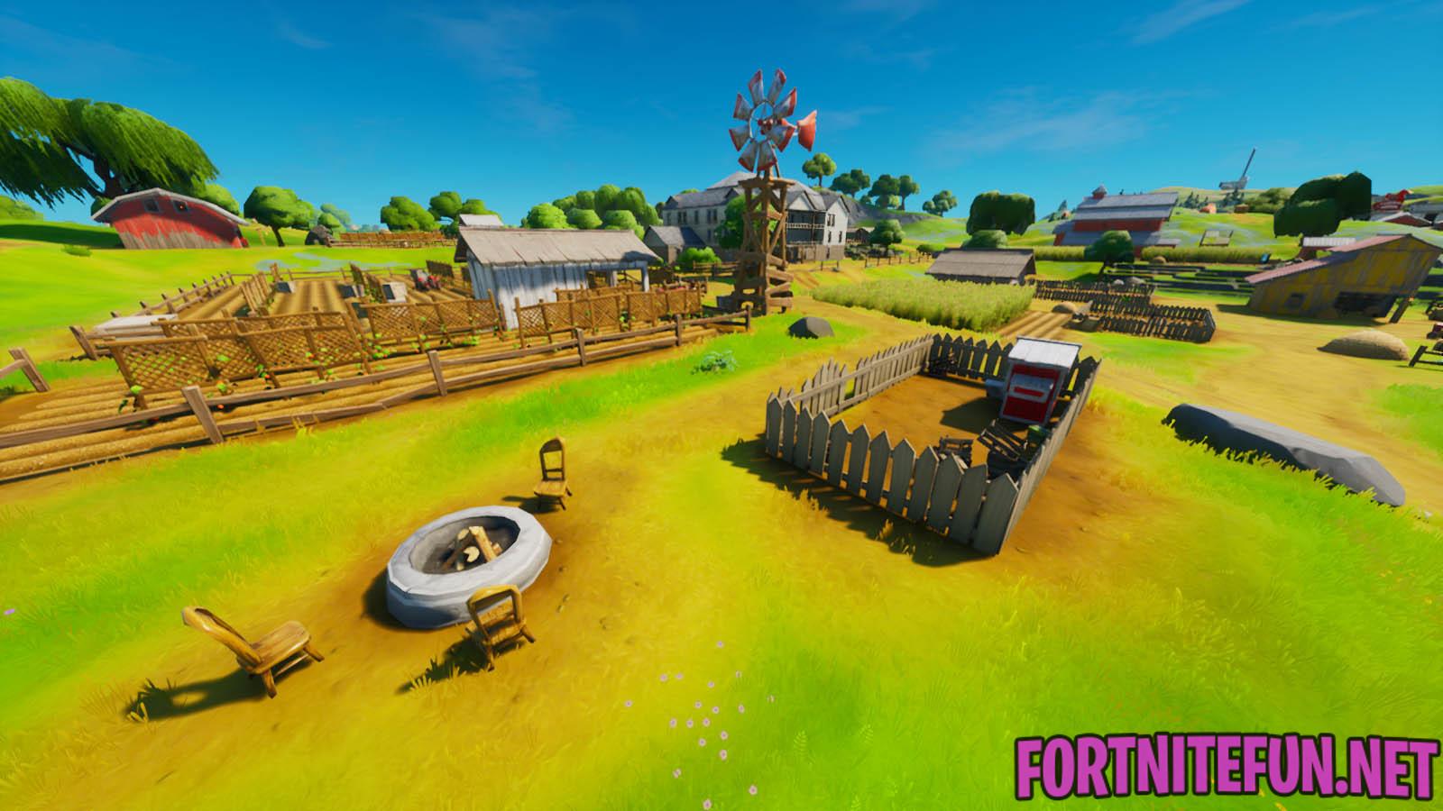 Frenzy Farm Fortnite Location Fortnite Frenzy Farm Location Fortnite Battle Royale
