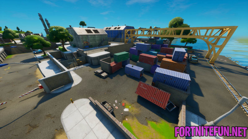 Fortnite Dirty docks location