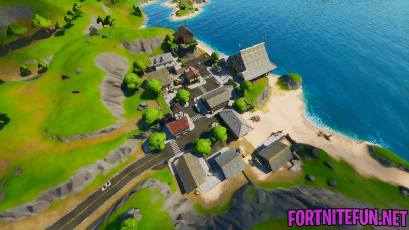 Fortnite Craggy cliffs location