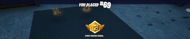 First Match Medal