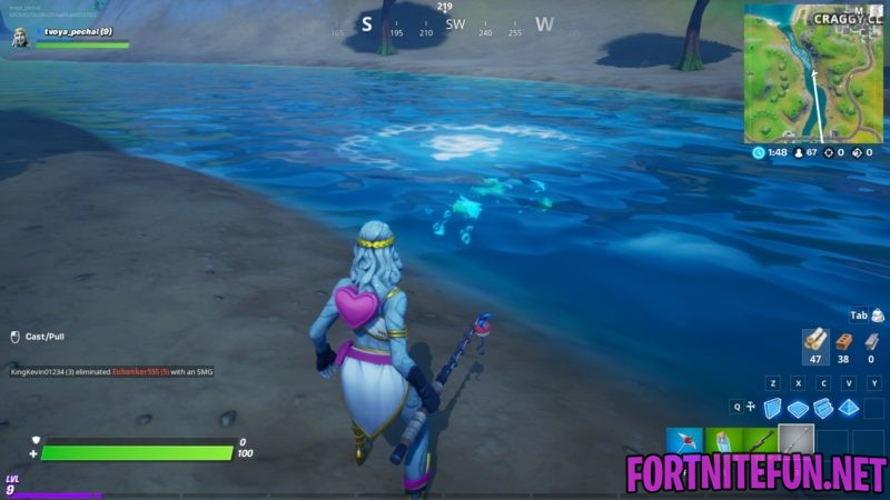 Fortnite fishing rod - how to use and what you can catch / How to Fish fortnite?