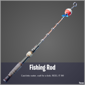 Fortnite fishing rod