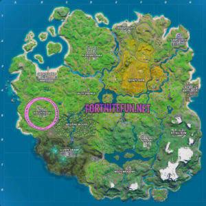 Fortnite Holly hedges location