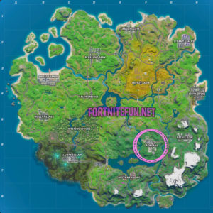 Fortnite Lazy Lake location |