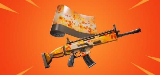 Free fortnite the falling leaf wrap reward for the autumn queen's quest