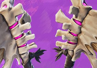 Fortnite Dark Dino Bones pickaxe