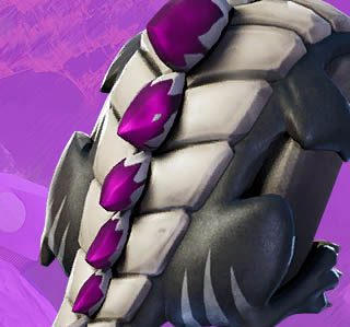 Fortnite Dark Scaly back bling