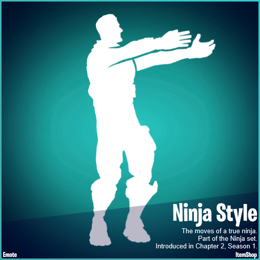 Ninja outfit will appear in the Fortnite in-game store