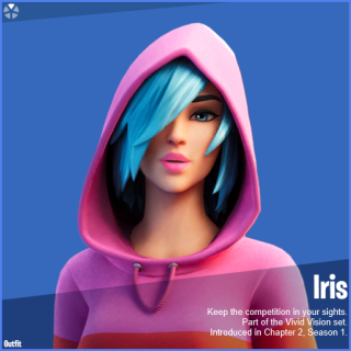 Fortnite Iris Outfit For Samsung - The New Fortnite x Samsung Leaked Promotion