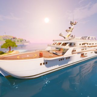 Fortnite the yacht location